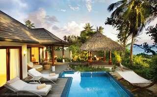 Labriz Silhouette Mahe Seychellen