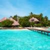 Malediven - nähe den Seychellen
