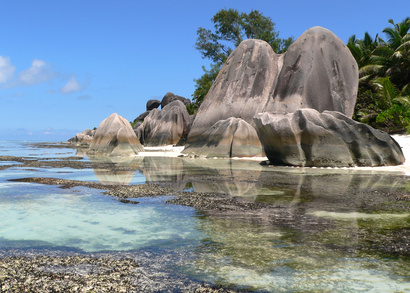 Paradise Beach- Seychellen - Anse Source d 'Argent